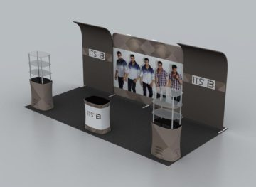 Portable Exhibition Booths : Display booth rentals
